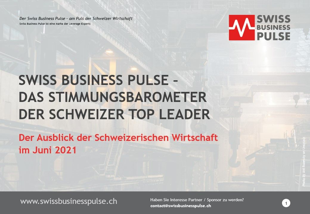 Swiss Business pulse June 2021